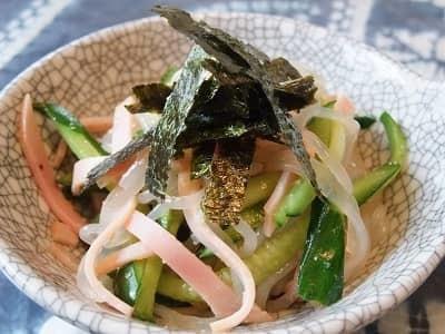 しらたきの中華サラダ