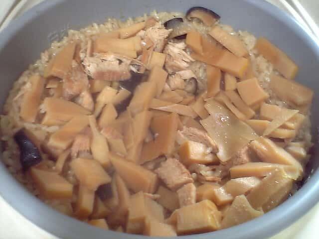 簡単 タケノコの炊き込みご飯
